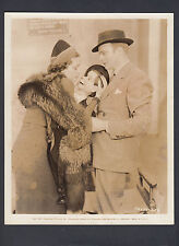 Dorothy LaMour & Charlie McCarthy on set of Great Broadcast of 1938 Press Photo