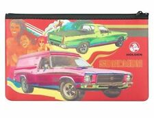 123200 HOLDEN SANDMAN PENCIL CASE NEOPRENE ZIPPED STATIONERY OFFICE