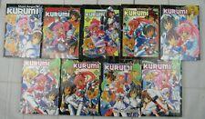 Steel Angel Kurumi Vol 1-9,  Kaishaku