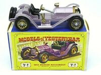 Matchbox Lesney Y7-2 1913 Mercer Raceabout Type 35J In Type 'D2' Box