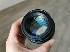 Ultra rare Microtar-2 90mm f1.6 USSR fast portrait prototype lens GFX bokeh M52