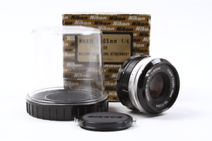 Nikon Bellows Nikkor P 105mm f/4 Short Lens for PB-6 PB-4 - MINT in BOX!