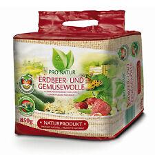 Erdbeer- & Gemüsewolle 850g Pro Natur NEU Erdbeerwolle Holzwolle Schutzwolle
