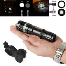 Ultrafire 20000LM 3 Mode Flashlight Lamp Light T6LED Zoomable Torch+Bike Holder@