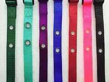 """Invisible Fence R21 R22 R51 Universal Nylon Collar Straps 3/4"""" 2 Hole 1 5/8 in."""