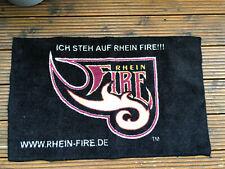 Rhein Fire Football kleiner Teppich Türvorleger im TOP Zustand
