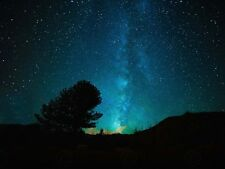 Space Milky Way Stars Night Large Wall Art Print Poster Picture Lf2338