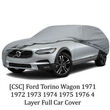 [CSC] Ford Torino Wagon 1971 1972 1973 1974 1975 1976 4 Layer Full Car Cover