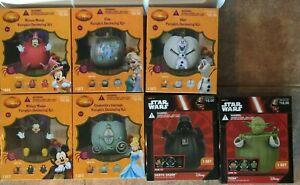 Disney Pumpkin Decorating Kit Choose Mickey Minnie Cinderella Elsa Olaf Yoda NEW