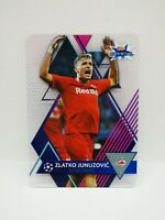 Carte card topps crystal 2019 2020 champions league SALZBURG 91 JUNUZOVIC