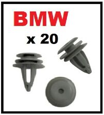 20 x BMW Series 1 and 3 Trim Clips for Interior Door Cards Panels and Fascia