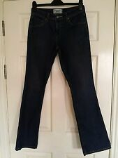 Señoras LEVI STRAUS Jeans 8 36 tramo largo Azul Denim Pantalones de vestir de arranque de baja altura cortan
