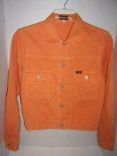 Guess Jeans orange denim jacket Lg