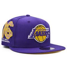 Los Angeles Lakers New Era TEAM TRIBUTE 9Fifty Snapback Hat - Purple