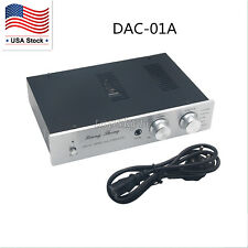 XiangSheng DAC-01A DAC Tube 24Bit 192Khz USB Decoders/Headphone/PreAmplifier US