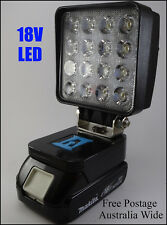 Makita 18V LED Work Light / Torch / Camping Light Adapt - Innovation Australia