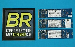 Lot of 3 Intel Optane Module M10 16GB Memory MEMPEK1J016GAH