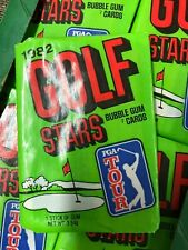 1982 DONRUSS GOLF UNOPENED 7 CARD WAX PACK FROM BOX JACK NICKLAUS