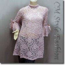 Regular Cotton Blend Floral Tunic Tops & Blouses for Women