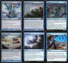 MTG Merfolk Deck - Blue - Full Art Lands -  Magic The Gathering - Custom Deck