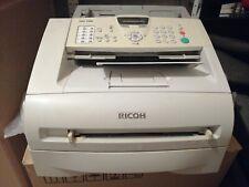 Ricoh Fax 1190L Drucker/Kopierer/Fax gebraucht 37045 Seiten gedruckt