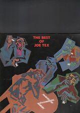 JOE TEX - the best of LP