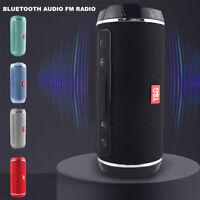 Wireless Bluetooth Speaker Waterproof Outdoor Stereo Bass USB/TF/FM Radio Audio