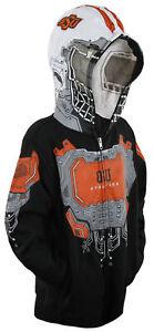 NCAA College Youth Oklahoma State Cowboys Masked Sweatshirt Hoodie, FLAWED