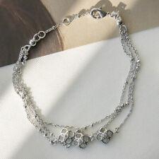 Kendra Scott Rue Multi Strand Bracelet In Silver NEW