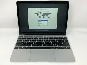 MacBook 12 Silver Early 2015 1.2GHz M 8GB 512GB SSD - Good Condition - READ