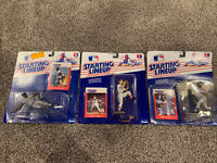 Rickey Henderson, Roger Clemens, Kirby Puckett Starting Lineup 1988 New On Card