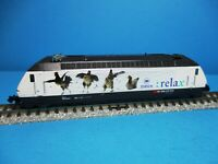 Trix 12679 SBB Elektrolokomotive Re 460 023-5 relax Zürich,neuw,Ana,OVP,M1:160
