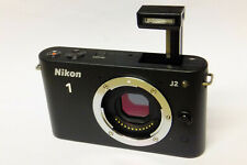 Nikon 1 J2 Gehäuse / Body (ohne Objektiv) Systemkamera schwarz J 2 black B-Ware