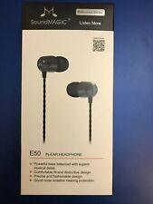 SoundMagic E50 Earphones Brand New And Boxed