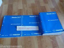 2007 MAZDA CX-7 Service & Wiring Diagrams & Body Manual **SEALED**