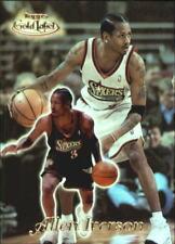 Allen Iverson #21 Topps Gold Label 1999/00 NBA Basketball Card