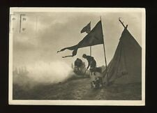 SCOUTS Boys Camping Switzerland 1939 PPC larger size