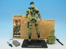 "GI Joe 25th Anniversary Lt. Falcon (v4) from comic pack 3.75"" Action Figure"