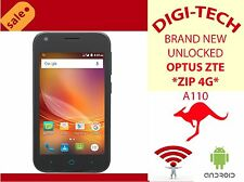 NEW UNLOCKED *ZTE ZIP BLADE A110*3G 4G BLACK MOBILE SMARTPHONE CAMERA FM RADIO