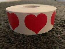 NEW 1000 Count - Roll  3 - HEART Tanning Bed Sticker Scrapbooking, and Crafts!