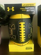 Under Armour Ua Official Size Grip Composite Football Training Aid New 14 & up