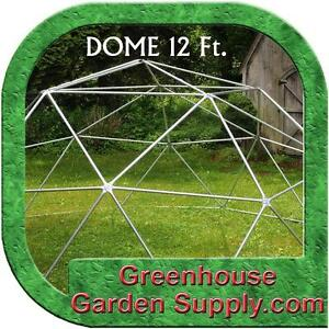 GEODESIC DOME 12 Ft. Frame Only - BURNING MAN or Greenhouse