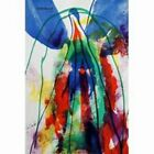 """Paul Jenkins, """"Earth Day 1971 - 9071"""" - Hand and Plate Signed Color Lithograph"""