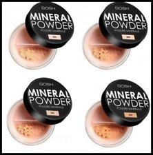 NEW GOSH Mineral Foundation Powder for Matt Finish Flowers Look Different Shades