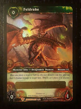 UNSCRATCHED Feldrake Loot Card - World of Warcraft TCG