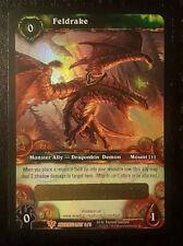 UNSCRATCHED Feldrake Loot Card - World of Warcraft TCG