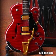 Mini Guitar Chet Atkins Collectible Gretsch Gibson Hollow Body Guitar Replica