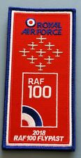 More details for royal air force tuncano aircraft - 100 anniversary flypast facs cloth patch.