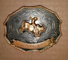 Western Cowboy Rodeo Belt Buckle