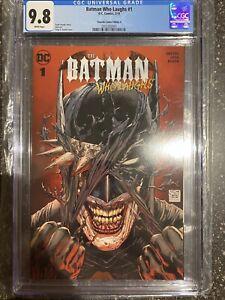 Batman Who Laughs 1 CGC 9.8 (Torpedo Comics Variant)
